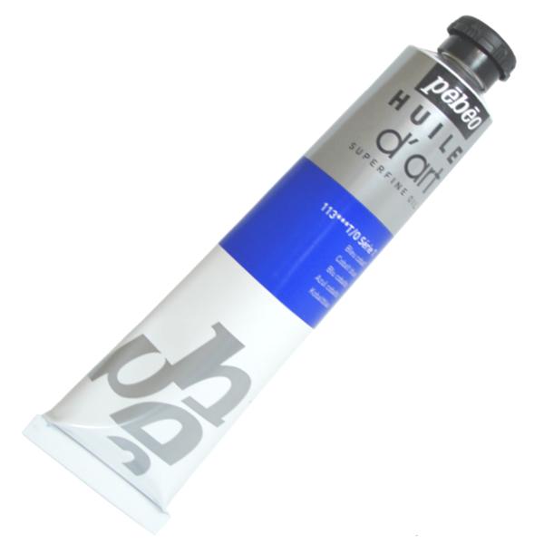 Tinta a Óleo Pébéo Huile D'Art 113 Azul Cobalto