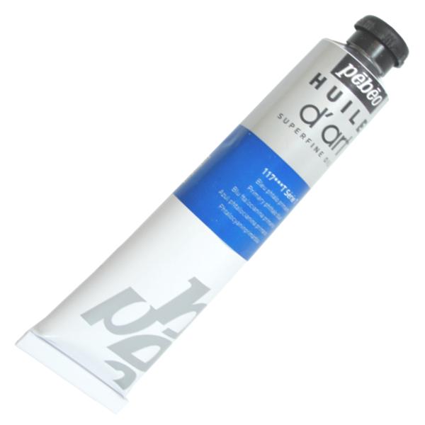 Tinta a Óleo Pébéo Huile D'Art 117 Azul Phtalo Primário
