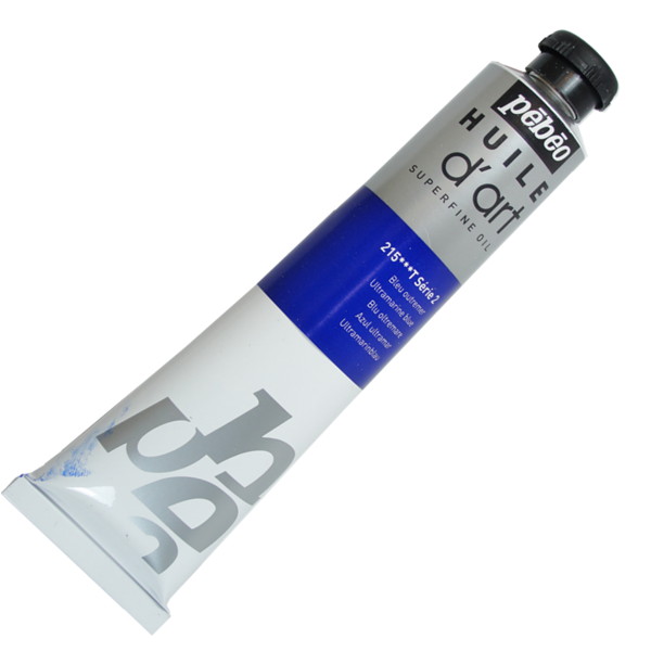 Tinta a Óleo Pébéo Huile D'Art 215 Azul Ultramar