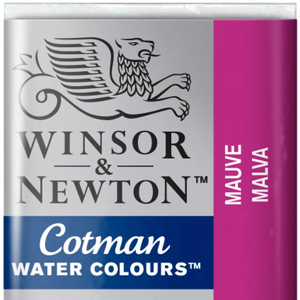 Aquarela Winsor & Newton Cotman Pastilha 398 Mauve