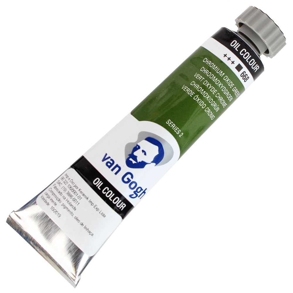 Tinta a Óleo Van Gogh 20ml 668 Chromium Ox. Green