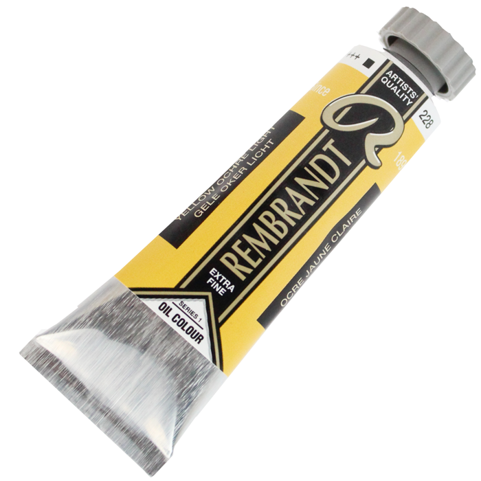 Tinta a Óleo Rembrandt 15ml 228 Yellow Ochre Light – G1