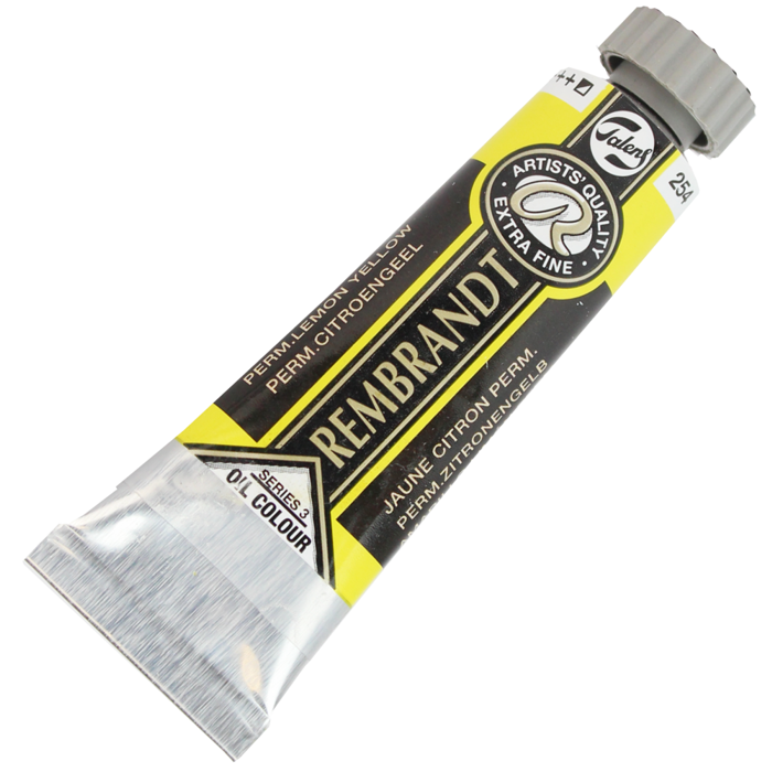 Tinta a Óleo Rembrandt 15ml 254 Perm. Lemon Yellow – G3