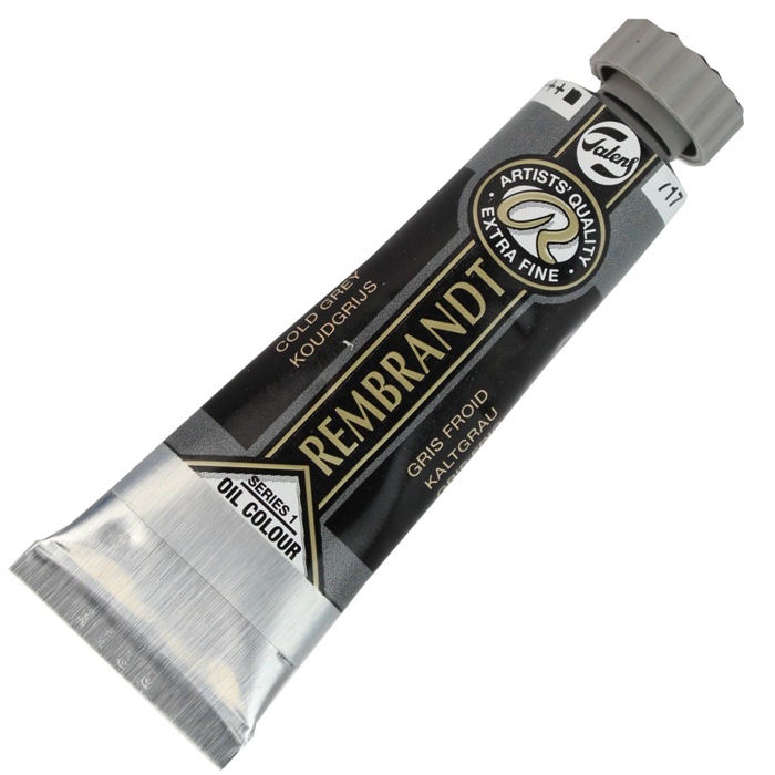 Tinta a Óleo Rembrandt 15ml 717 Cold Grey – G1