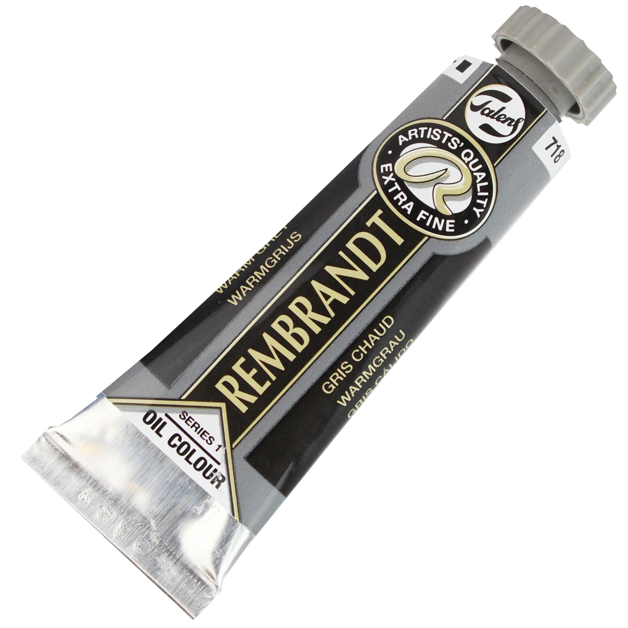 Tinta a Óleo Rembrandt 15ml 718 Warm Grey – G1