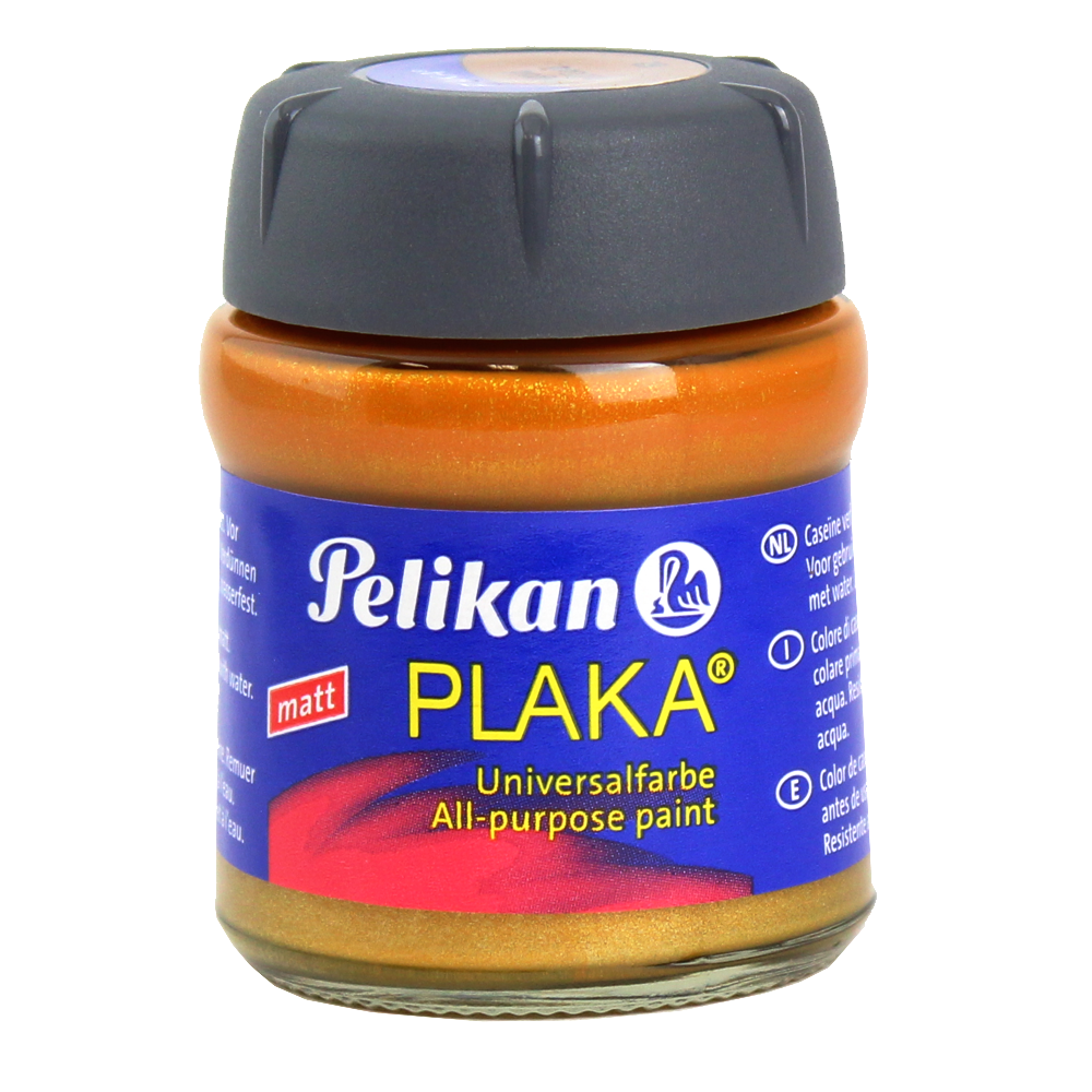 Tinta Caseína Pelikan Plaka 62 Red GOLD 50ml