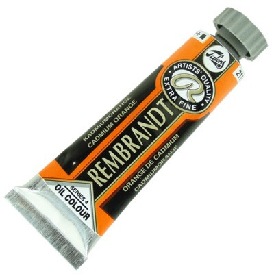 Tinta a Óleo Rembrandt 15ml 211 Cadmium Orange - G4
