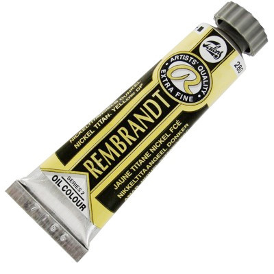 Tinta a Óleo Rembrandt 15ml 280 Nick. Titan. Yellow Deep – G2