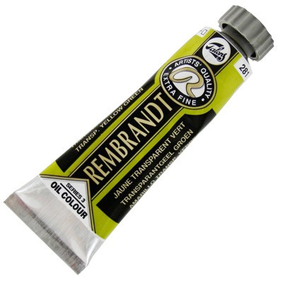 Tinta a Óleo Rembrandt 15ml 281 Transp. Yellow Green – G3