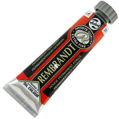 Tinta a Óleo Rembrandt 15ml 371 Permanent Red Deep – G3