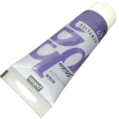 Tinta Acrílica Pébéo Studio 100ml 047 Violeta de Cobalto Imit