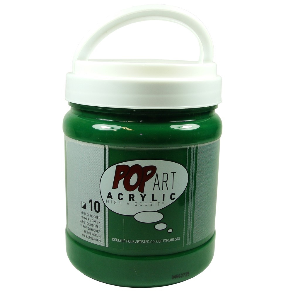 Tinta Acrílica Pop Art 700ml 10 Verde Hooker