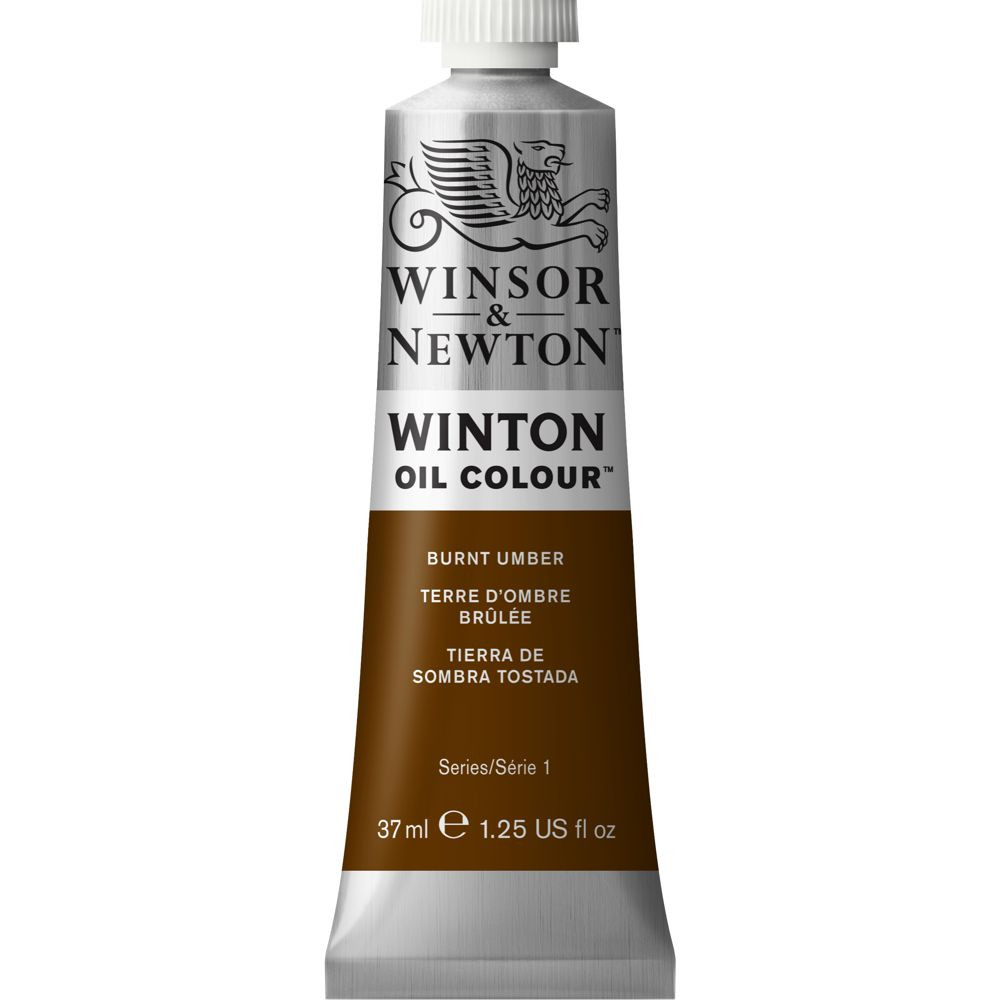 Tinta Óleo Winton 37ml Winsor & Newton 076 Burnt Umber