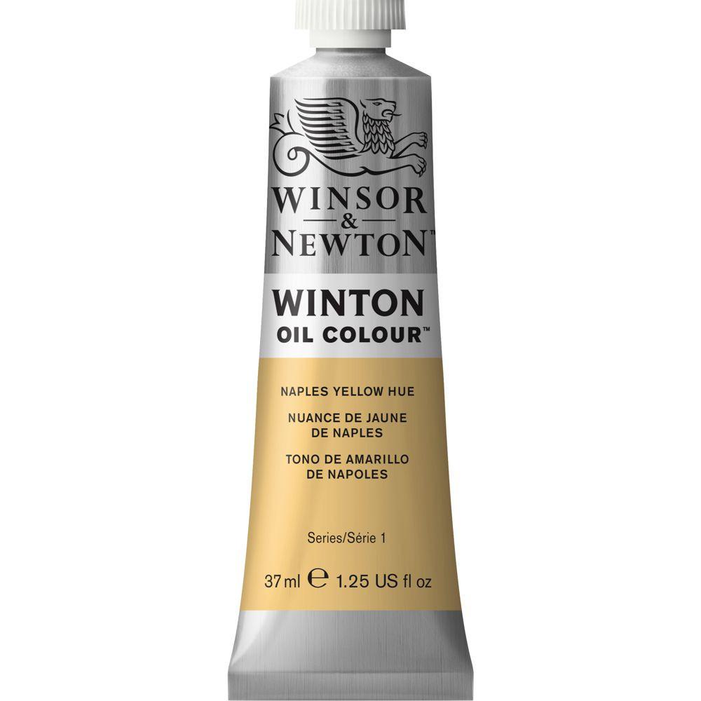 Tinta Óleo Winton 37ml Winsor & Newton 422 Naples Yellow Hue