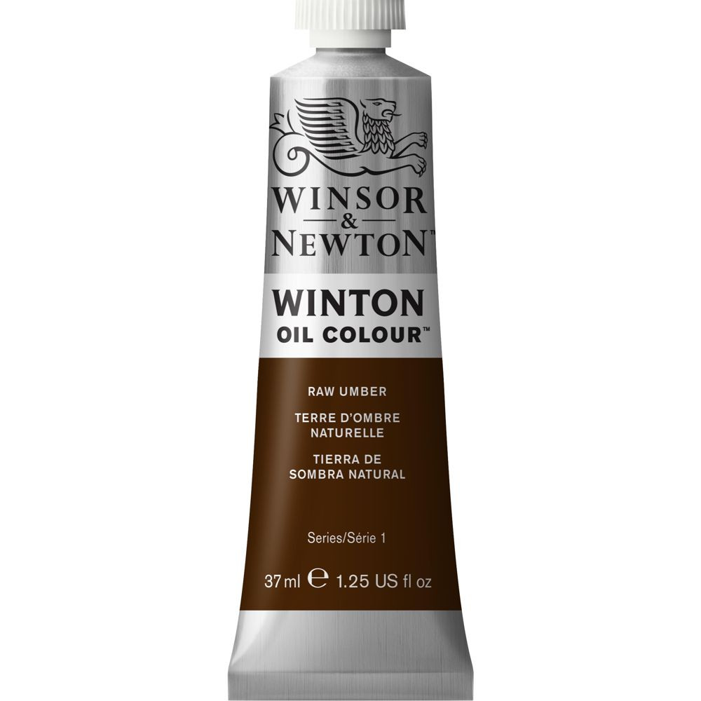 Tinta Óleo Winton 37ml Winsor & Newton 554 Raw Umber