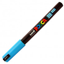 Caneta Posca PC-1MR Azul Claro