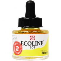 Tinta Ecoline Talens 30ml 205 Lemon Yellow