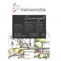 Bloco Hahnemühle Concept Sketch & Draw 220g/m² A4