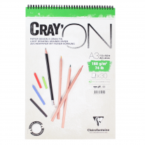Caderno Clairefontaine Cray'On 160g/m² A3