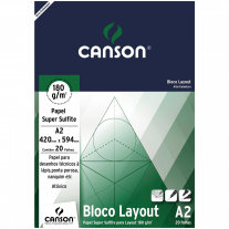 Bloco Layout Canson 180g/m² A2