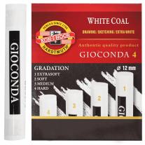 Carvão Branco Koh-I-Noor Graduado 04 Durezas
