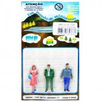 Personagens Para Maquetes Minitec 1/50 - 03 Peças 689