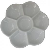 Godê de Porcelana Para Aquarela com 07 Cavidades