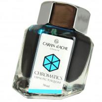 Tinta Para Caneta Tinteiro Caran d'Ache Chromatics Hypnotic Turquoise 50ml