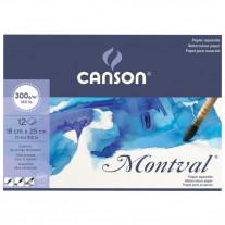 Bloco Para Aquarela Canson Montval 300g/m² A5+