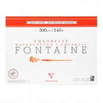 Papel para Aquarela Clairefontaine Fontaine Satiné 300g/m² 30X40cm