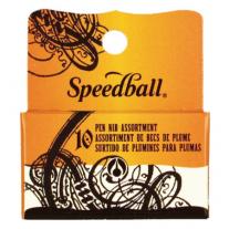 Conjunto de Caligrafia Speedball 10 Penas