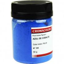 Pigmento Artístico Cromacolor 50g 105 Azul Cobalto