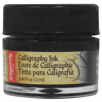 Tinta Caligráfica Speedball 12ml 3100 Preto Intenso