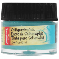 Tinta Caligráfica Speedball 12ml 3106 Verde Azulado