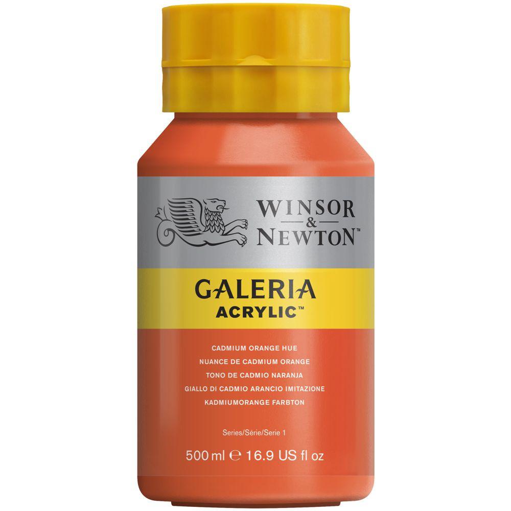 Tinta Acrílica Winsor & Newton Galeria 500ml 090 Cadminum Orange Hue