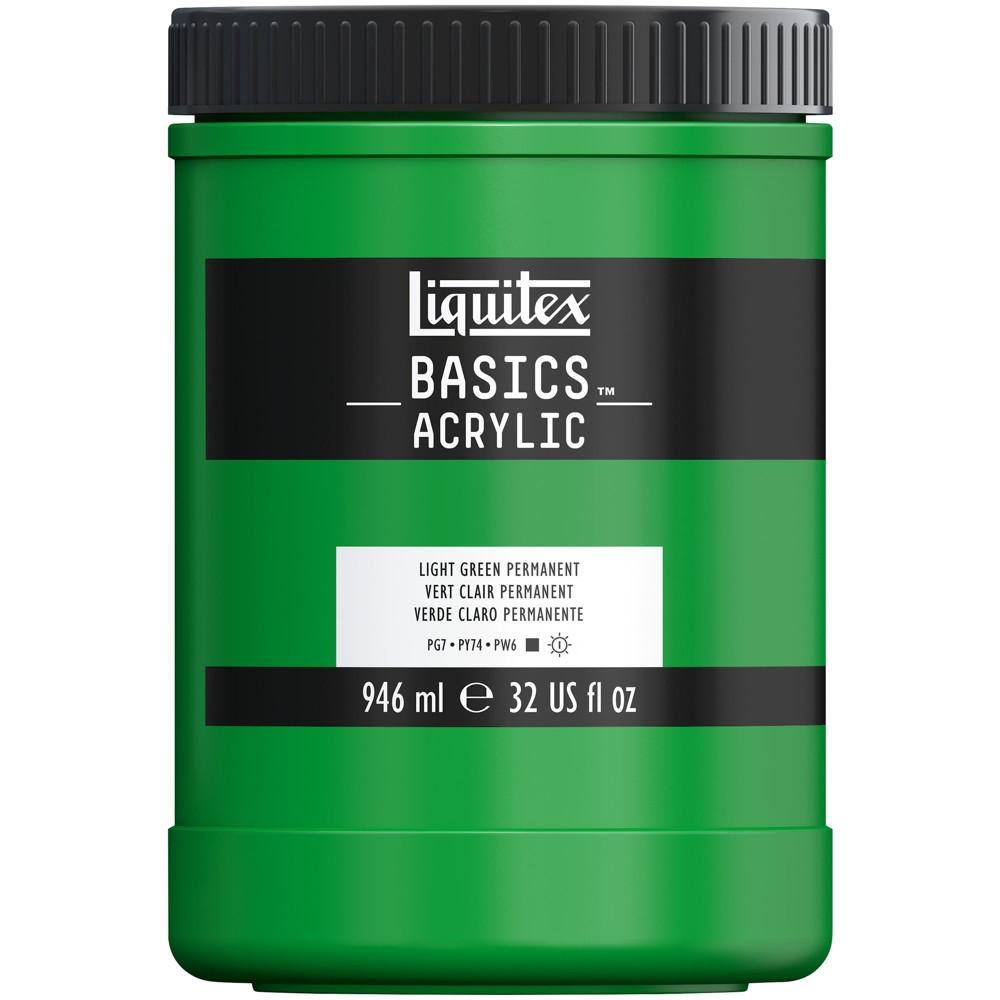 Tinta Acrílica Liquitex Basics 946ml 312 Light Green