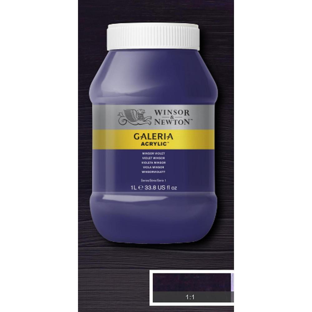 crílica Winsor & Newton Galeria 1Litro 728 Winsor Violet