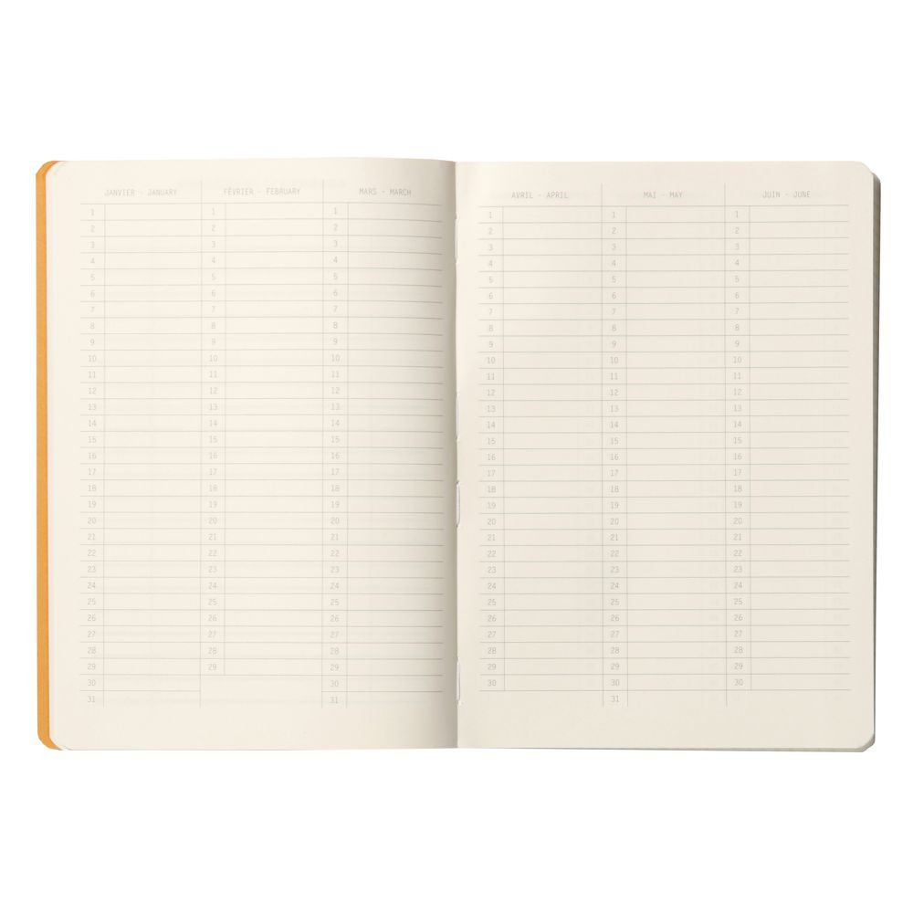 Caderno Goalbook Rhodia Tangerine