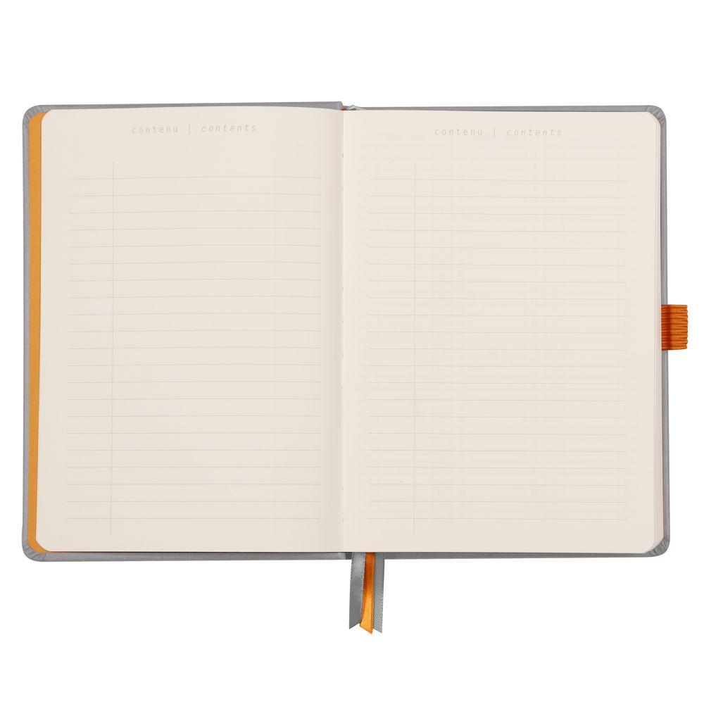 Goalbook Rhodia A5 Capa Dura Silver
