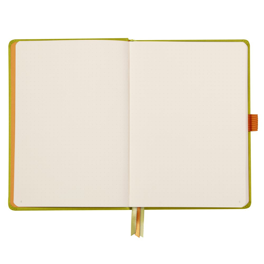 Goalbook Rhodia A5 Capa Dura Anise
