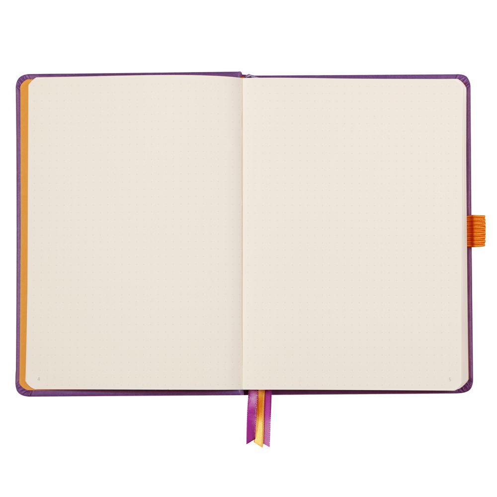 Goalbook Rhodia A5 Capa Dura Purple