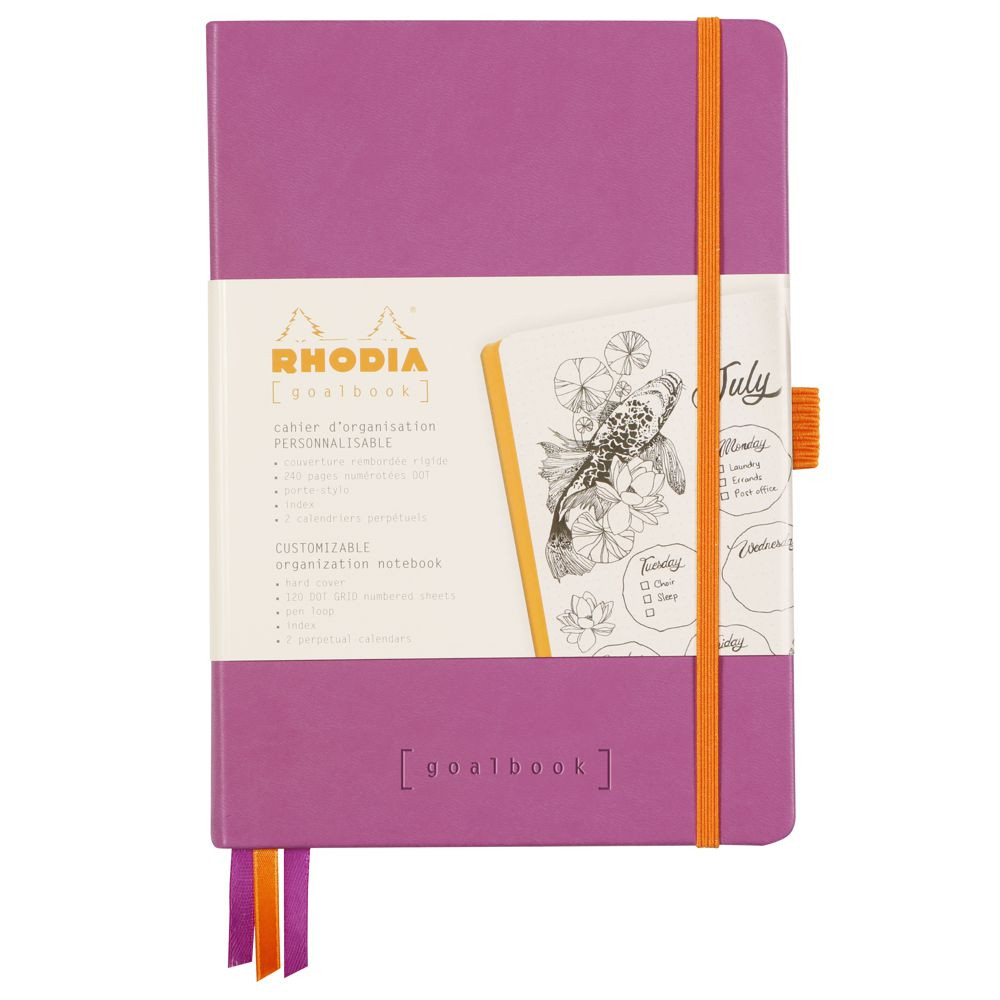 Goalbook Rhodia A5 Capa Dura Lilac