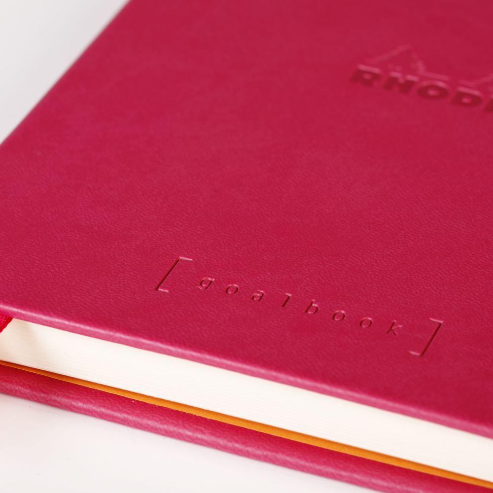 Goalbook Rhodia A5 Capa Dura Raspberry