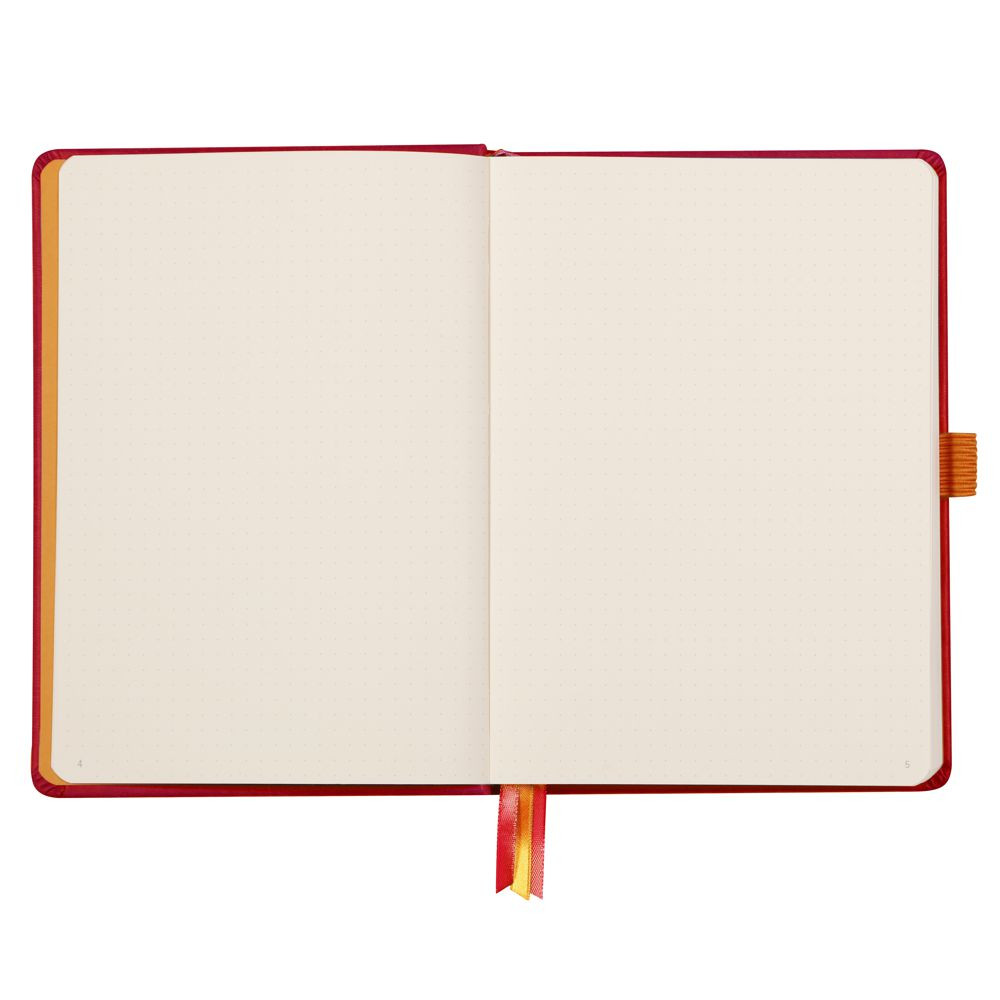 Goalbook Rhodia A5 Capa Dura Poppy