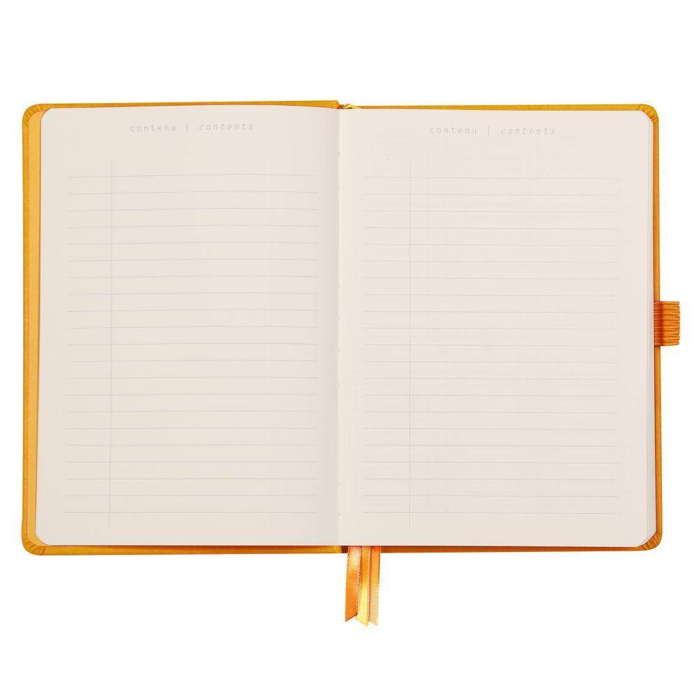 Goalbook Rhodia A5 Capa Dura Orange