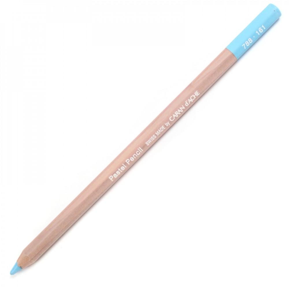 Lápis Pastel Seco Caran d'Ache 161 Light Blue