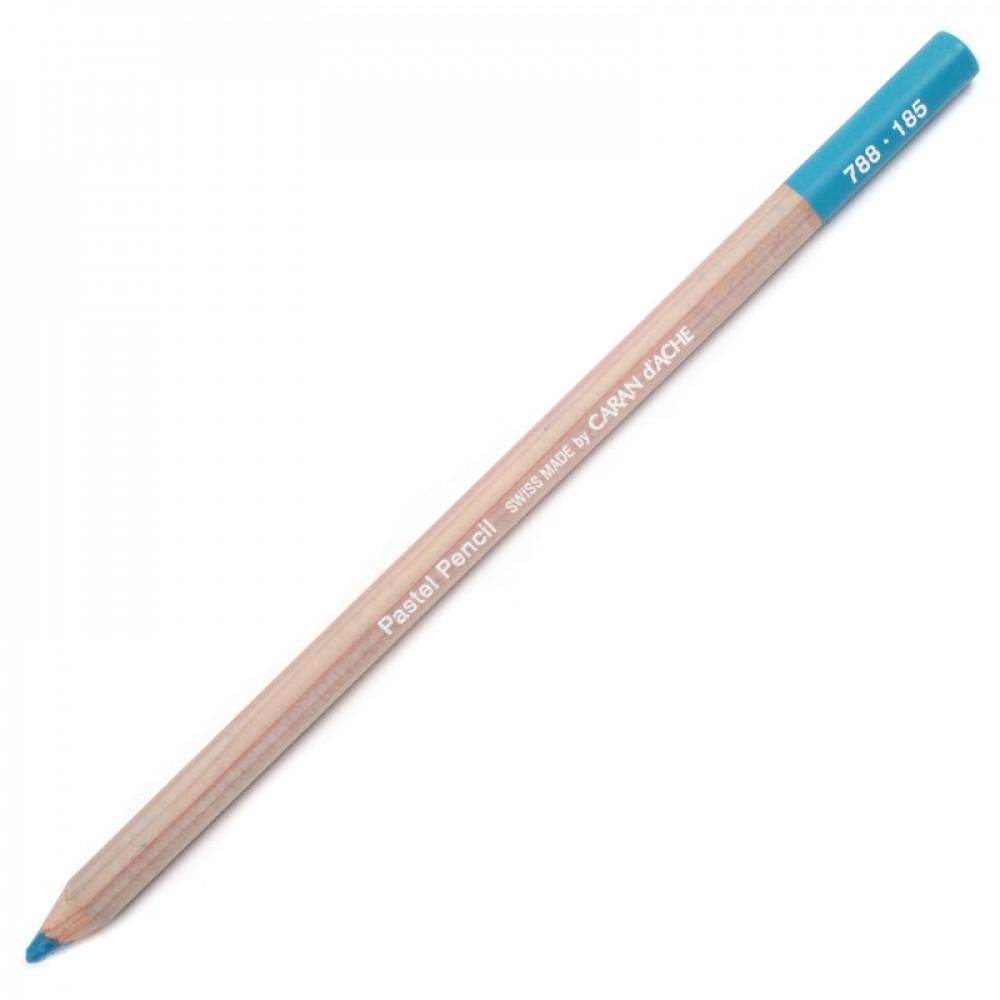 Lápis Pastel Seco Caran d'Ache 185 Ice Blue