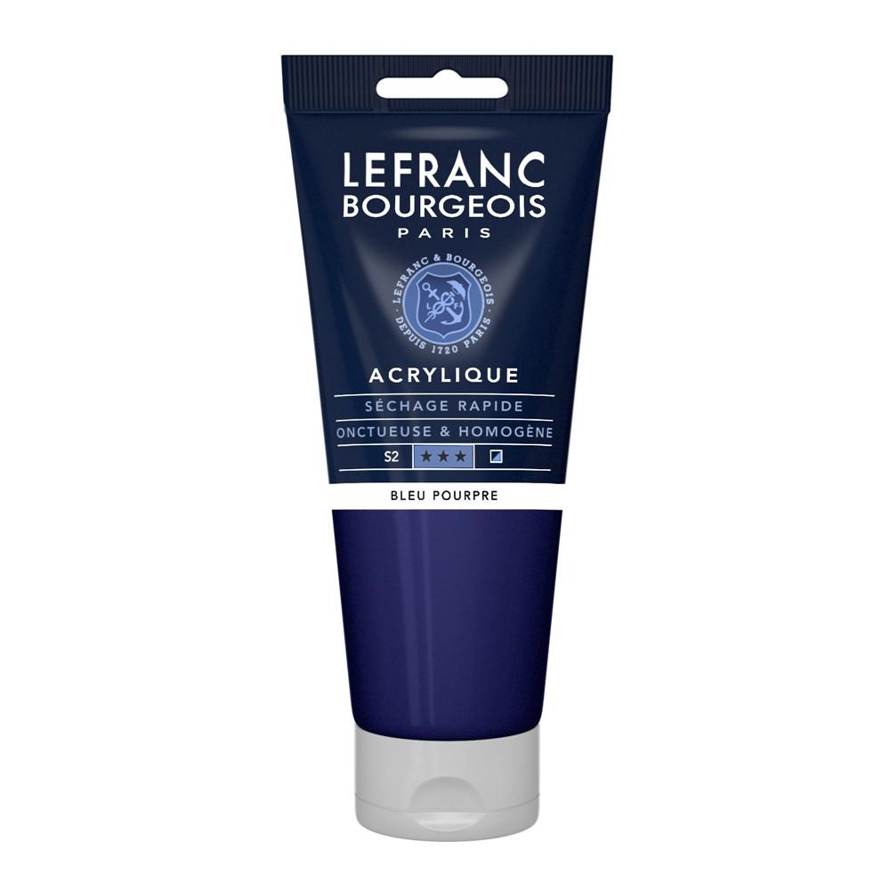 Tinta Acrílica Lefranc & Bourgeois 200ml 045 Blue Purple