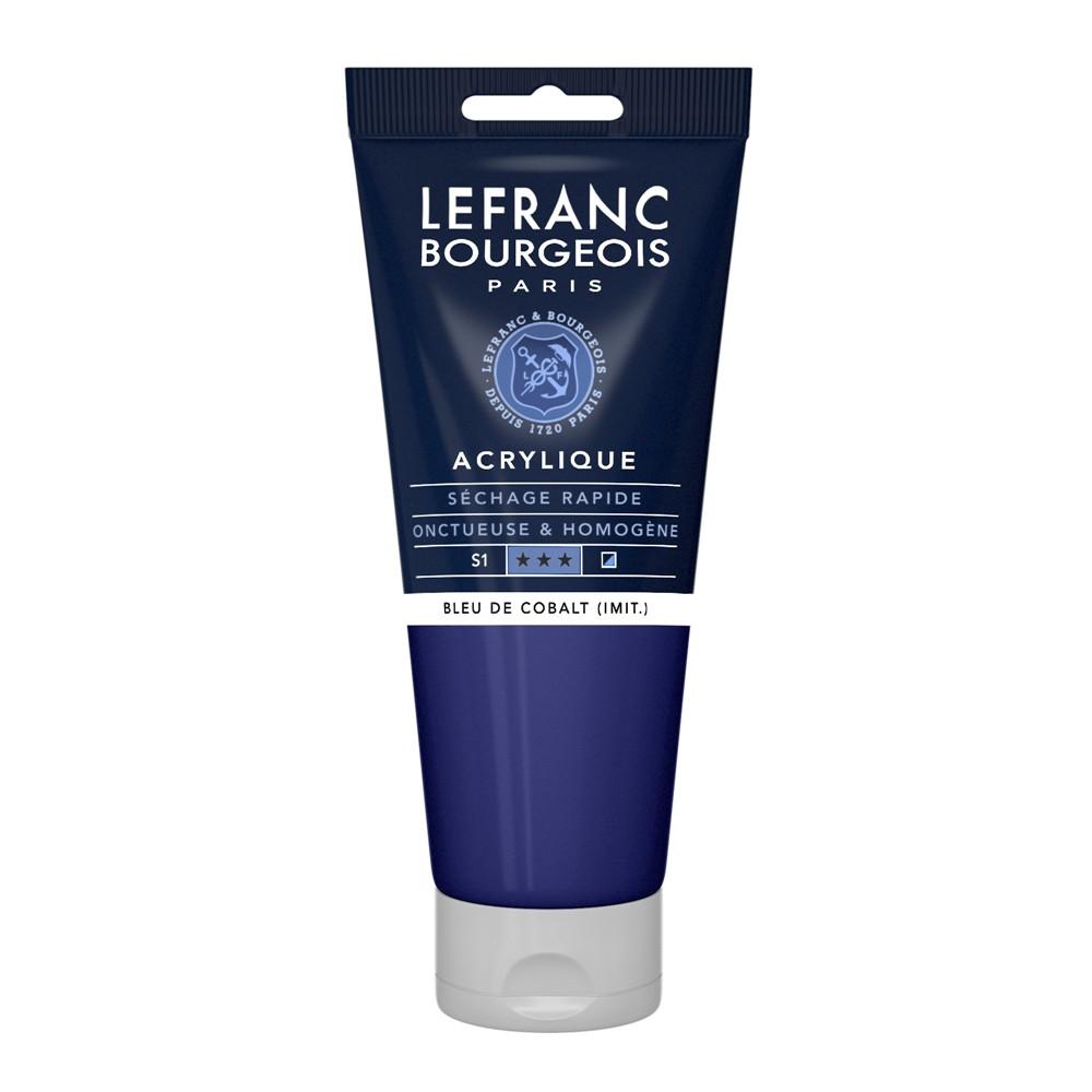 Tinta Acrílica Lefranc & Bourgeois 200ml 064 Cobalt Blue Hue