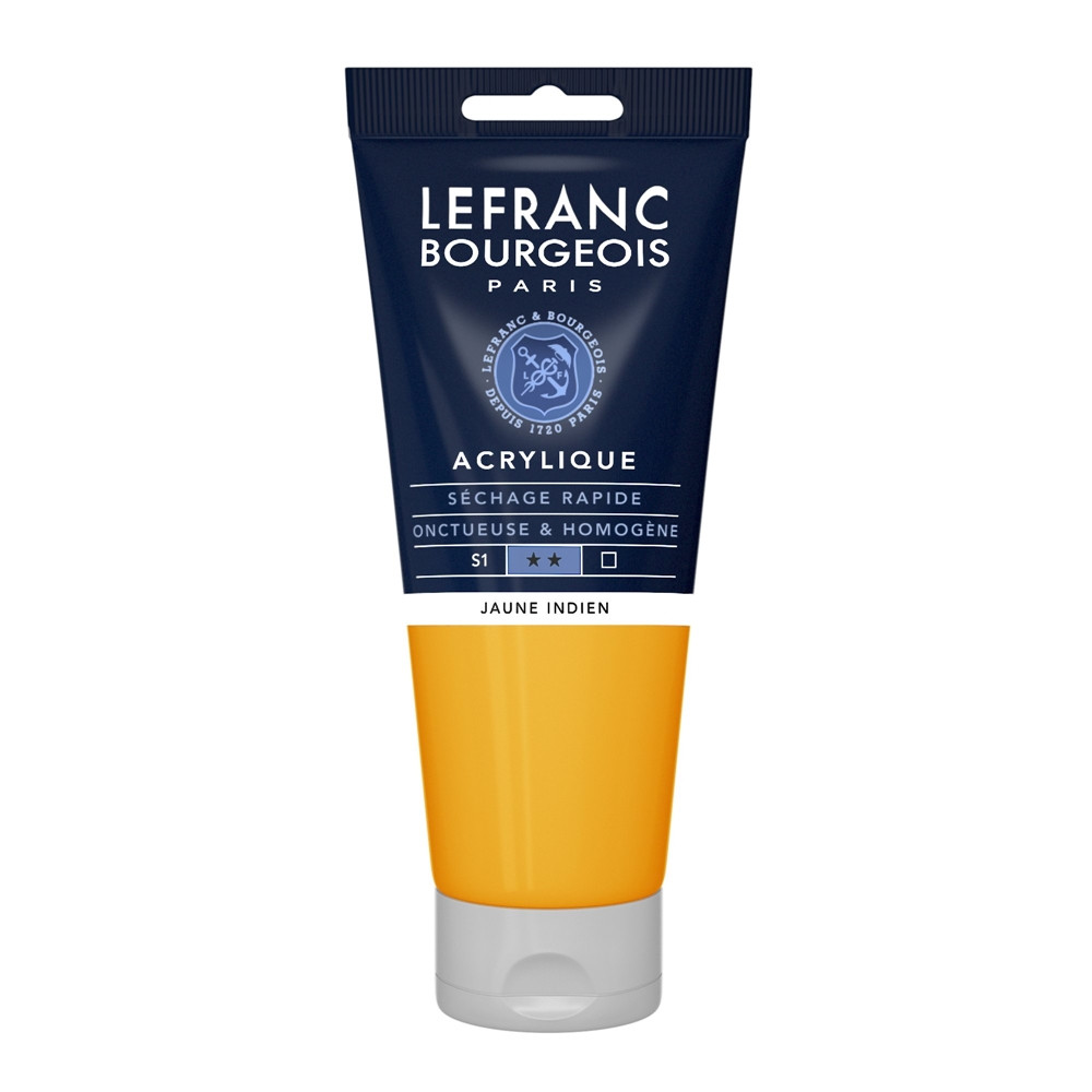 Tinta Acrílica Lefranc & Bourgeois 200ml 212 Indian Yellow